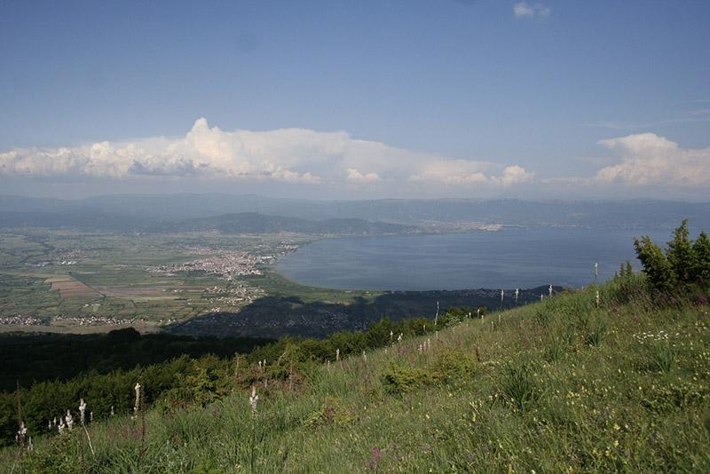 2-3 Paraglajderski strart 1550 mnv - pogled na Ohridsko ezero